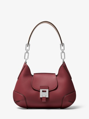 Michael Kors Bancroft Medium Calf Leather Shoulder Bag