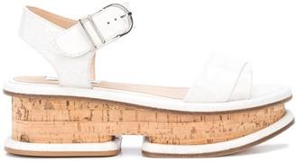 Gabriela Hearst Ankle Strap Platform Sandals