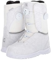 DC Lotus Boa Snowboard Boots (White) Women's Snow Shoes