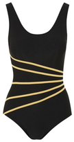 George Striped Active Swimsuit