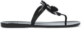 Tory Burch Floral-appliqued Rubber Sandals