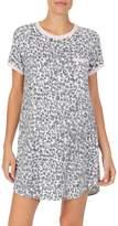 Kensie Printed Short-Sleeve Sleepshirt