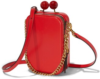 Marc Jacobs THE The Vanity Leather Crossbody Bag