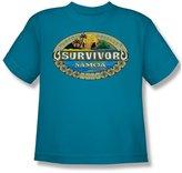Cbs - Survivor / Samoa Logo Youth T-Shirt In
