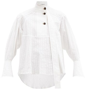 Palmer Harding Rhesus Cotton-blend Poplin Shirt - White
