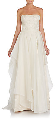 Great Luck Sequined Silk Organza Gown