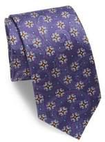 Eton Paisley & Floral Silk Tie