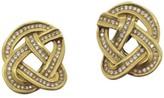 Tiffany & Co. Angela Cummings 18K Yellow Gold Diamond Earrings