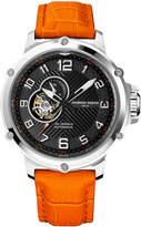 Giorgio Fedon Men's Leather Strap Sport Utility III Automatic Watch, 45mm