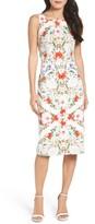 Maggy London Women's Print Sheath Dress
