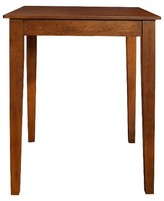 Crosley Tapered Leg Pub Table Wood/Cherry