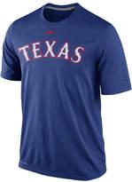 Nike Men's Texas Rangers Legend Wordmark T-Shirt