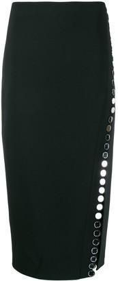 David Koma Embellished Pencil Skirt
