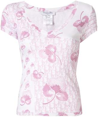Christian Dior Pre-Owned floral Trotter T-shirt