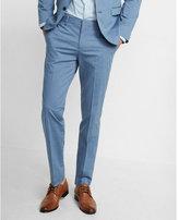 Express Slim Photographer Cotton Sateen Suit Pant