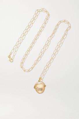 Loquet Chantal Conrad Lumiere 14-karat Gold Diamond Necklace