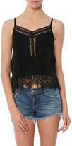 C&C California CandC California Ivy Cami With Lace Sweep