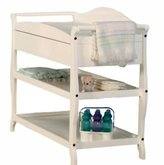 L.A. Baby Sleigh Style Changing Table with Drawer