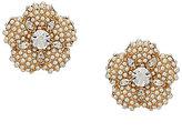Kate Spade Posy Petals Pearl Flower Stud Earrings