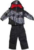 Weatherproof Toddler Boys' Snow Bib and Jacket Set