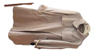 Burberry Silver Cotton Trench coats