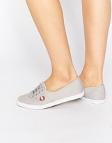Fred Perry Aubrey Twill Gray Sneakers