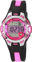 JCPenney Armitron Womens Pink Chronograph Digital Sport Watch 45/7030PNK