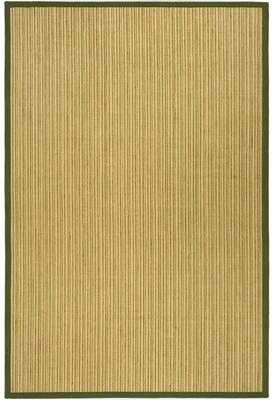 Beachcrest Home Richmond Jute Green Area Rug