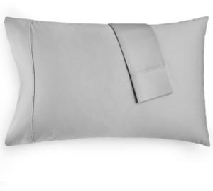 Aq Textiles Bergen Standard Pillowcase, 1000 Thread Count 100% Certified Egyptian Cotton Bedding