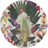 N. Nicolette Mayer Fantasy Tropical Round Pebble Placemats, Set of 4