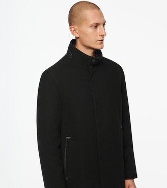 Andrew Marc Barton Mid-Length Wool Car Coat