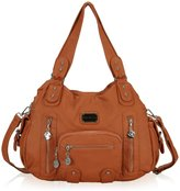 Hynes Victory Multi Front Pockets Totes Shoulder Bags