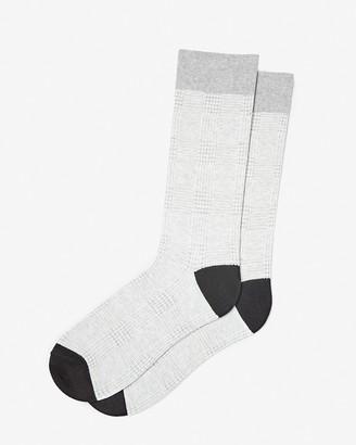 Express Mini Houndstooth Dress Socks