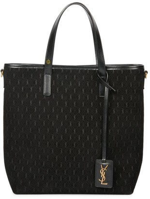 Saint Laurent Monogram Leather Shopper
