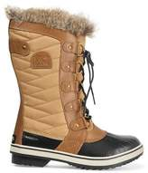Sorel Tofino Waxed Canvas And Leather Boots