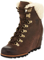 Sorel Conquest Water-Resistant Wedge Bootie