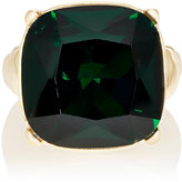 Kenneth Jay Lane WOMEN'S GREEN CRYSTAL COCKTAIL RING