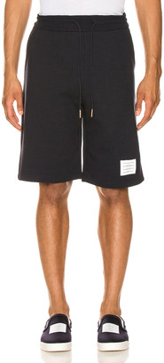 Thom Browne Sweat Shorts in Navy | FWRD