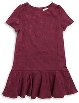 Kate Spade Girls 7-16 Floral Embossed Drop Waist Dress