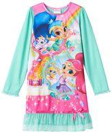 Girls 4-10 Shimmer & Shine Dorm Nightgown