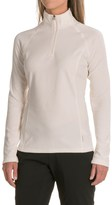 White Sierra Ponderosa Fleece Jacket - Zip Neck (For Women)