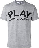 Comme des Garcons logo T-shirt - men - Cotton - L