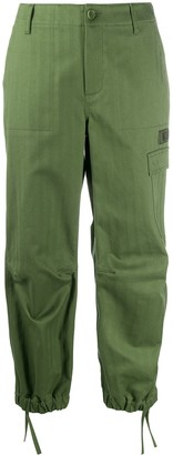 Moschino Tapered Cargo Trousers
