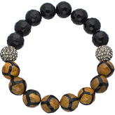 Very Me Onyx Giraffe Stretch Bead Bracelet