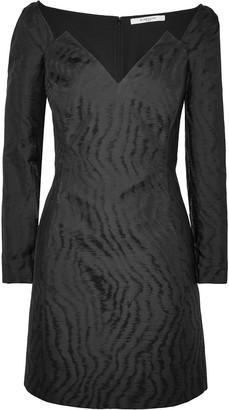 Givenchy Moire-jacquard Mini Dress