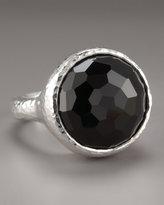 Black Onyx Lollipop Ring