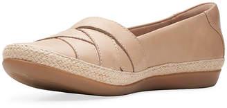 Clarks Womens Danelly Shine Slip-On Shoe Round Toe