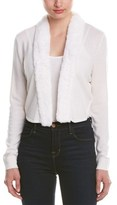 Magaschoni Cashmere Open Cardigan.