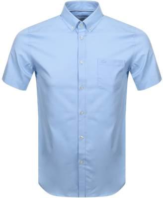 Lacoste Short Sleeved Shirt Blue