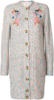 RED Valentino floral embroidered cardigan